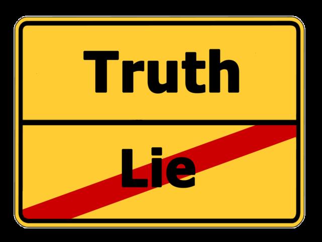 Wahrheit Falschheit